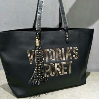 Victoria's Secret Tote Bag Black Color
