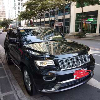 2015 Grand Jeep Cherokee SUMMIT Gas 4x4