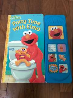 Preloved Toddler's Book: Potty Time with Elmo