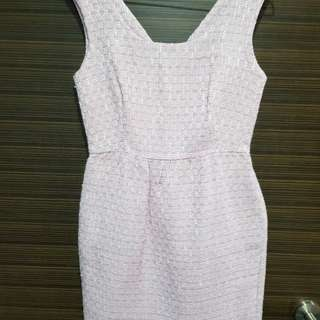 MGP tweed pink dress