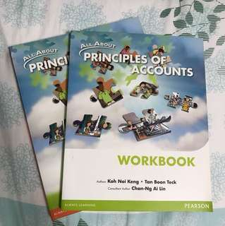 ✨BRAND NEW✨ POA textbook and workbook