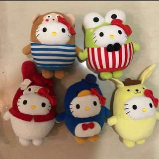 Mcdonald Hello Kitty collectibles (Fairy Tales, Bubbly World, Circus of Life)