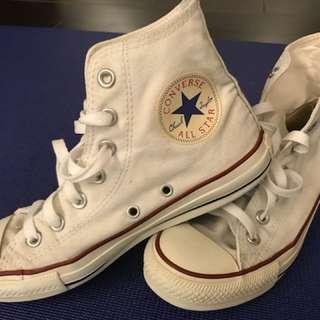 🚚 Converse白色鞋