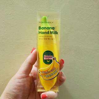 BN Tony Moly banana hand milk handcream