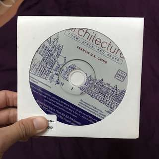 Architecture CD for students - form, space, order Francis D K Ching