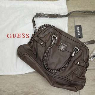 Guess leather bag 全皮手袋