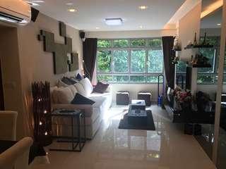4 Room HDB with condo style reno