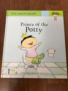 Preloved Toddler's Book: Prince of the Potty