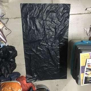黑色大垃圾袋57x100左右 1袋50个