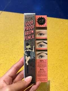 Benefit goof proof brow pencil