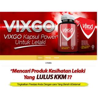 VIXGO FOR MEN - WORKS WONDER AND PROVEN