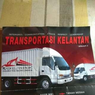 Sewa Lori 5 tan Kelantan - Kajang