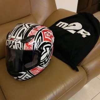 M2R 全罩安全帽 阿茲特克配色 可議