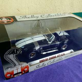 SHELBY COLLECTIBLES COBRA 427 S/C 1/18 METAL DIECAST