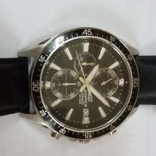 CASIO EDIFICE 皮錶