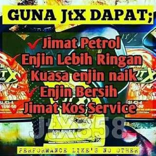 Jom Try JTX. Jimat Petrol !!