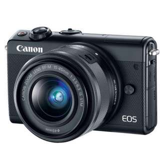 Canon EOS M100 Mirrorless EF-M15-45 IS STM KIT