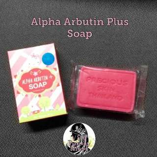 Alpha Arbutin Plus  Soap (Authentic)