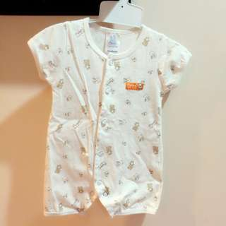 #Bajet20 Newborn Baby Romper 100% Cotton Boy Girl Short Sleeve