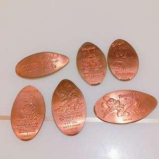 迪士尼紀念銅幣