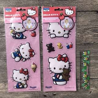 Free Normal Mail - Large Hello Kitty Stickers - Wall Decals - Sanrio Stickers