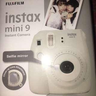 Fujifilm instax mini 9 + 10 sheets plain film
