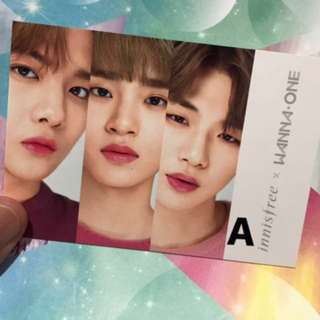 Official Wanna One x Innisfree PC