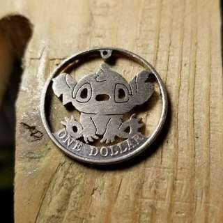 handmade coin art