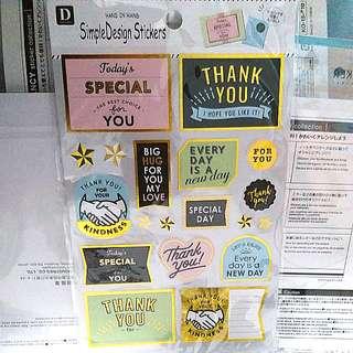 手帳貼紙sticker