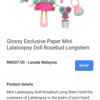 Lalaloopsy mini 3'' figurine only