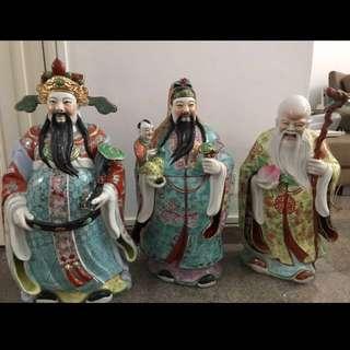 Fu Lu Shou authentic