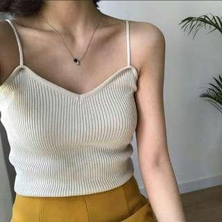 BN White Strappy Camisole