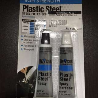 Glue Epoxy - plastic steel