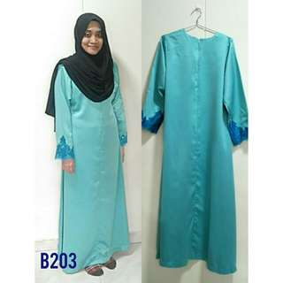 Pre-❤ Bright Turquoise Dress [B203]