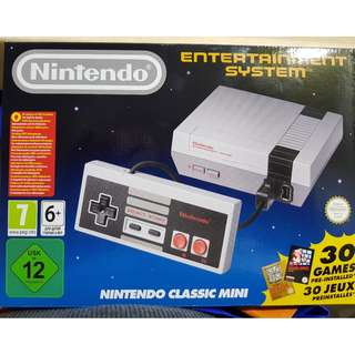 Nintendo Classic Mini - only used once