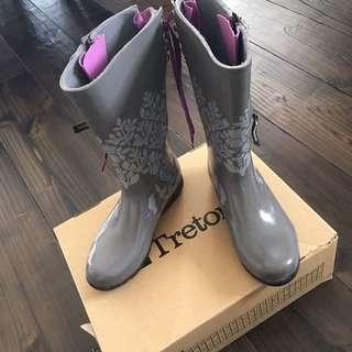Tretorn Boots - Grey/Purple