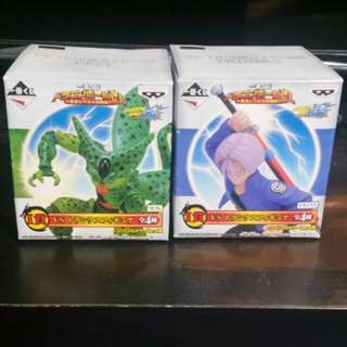 Banpresto dragonball ichiban kuji vs trunks