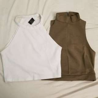 ZARA crop tops