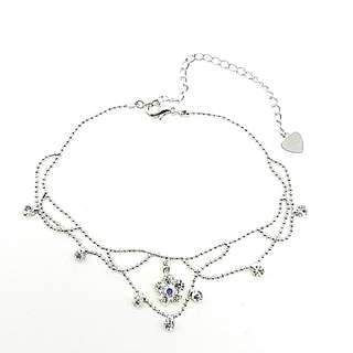 Women Rhinestone Crystal Bracelet