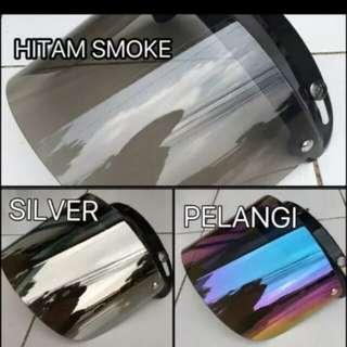 Rainbow flat visor