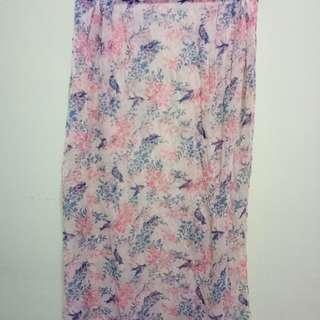 Floral shawl