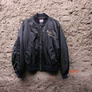 Vintage bomber Mickey mouse