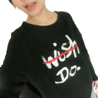 🚚 🙌🏻Queen Shop 長袖字母衫