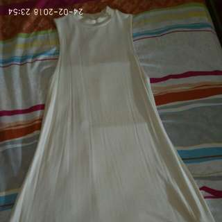 Milky white Dress - Topshop