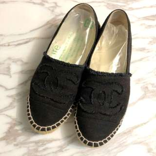 Chanel espadrilles 37 shoes 草鞋 漁夫鞋