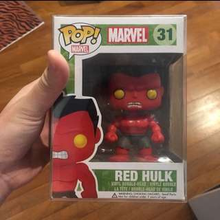 Rare and valuted red hulk