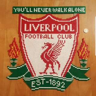 Hama beads design Liverpool football you'll never walk alone
