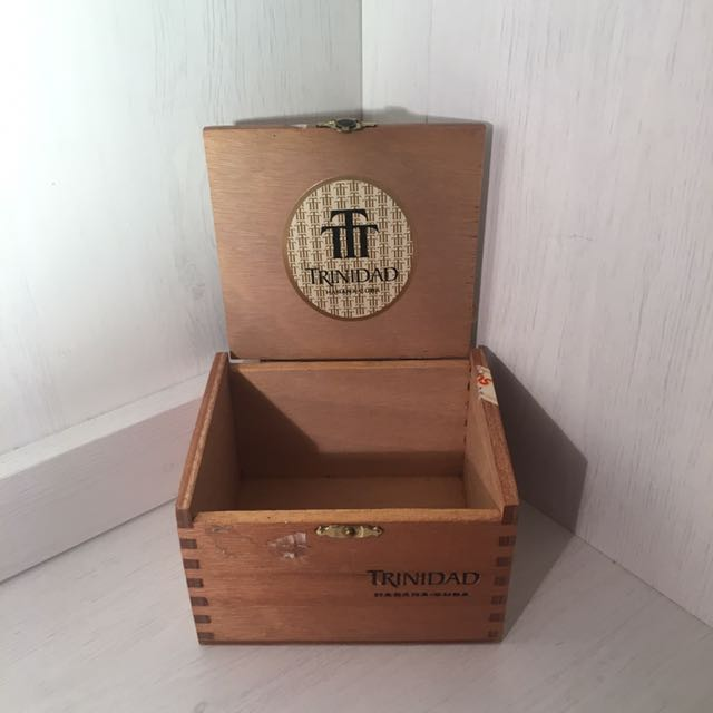 雪茄盒 收納盒 木箱 (小)