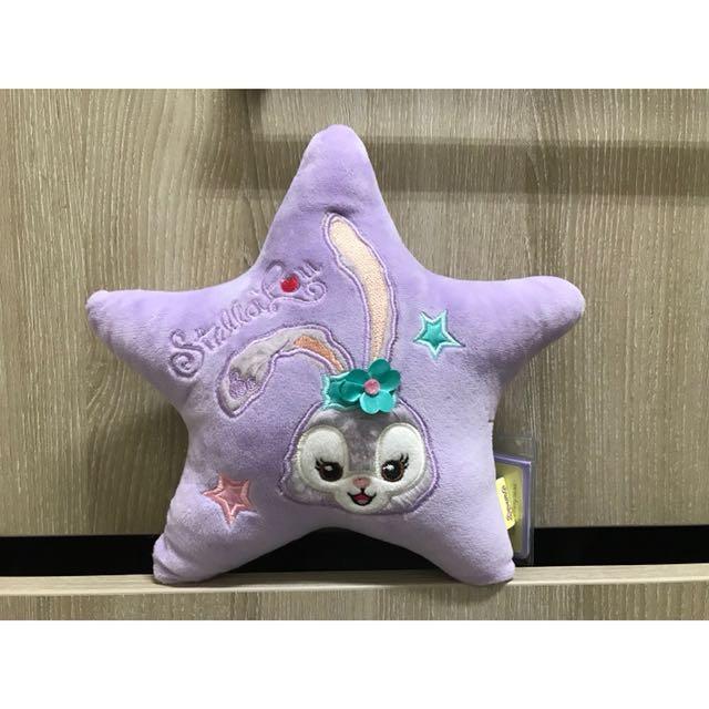 迪士尼 史黛拉 達菲 好朋友 星型枕 造型枕 午安枕 含吊牌雷標