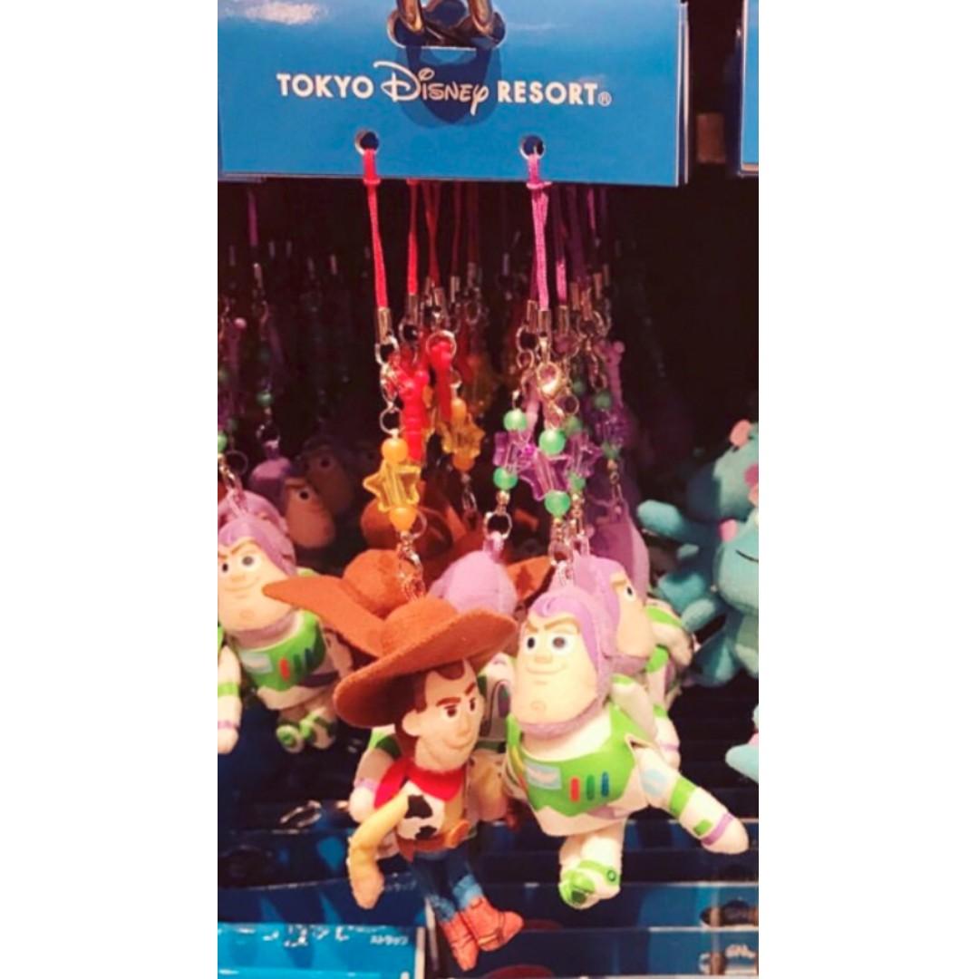 日本 迪士尼樂園 單賣 巴斯 巴斯光年 玩具總動員 吊飾 娃娃 玩偶 手機吊飾 娃娃吊飾 耳機塞 防塵塞 鑰匙圈